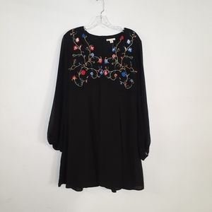 Cato embroidered dress